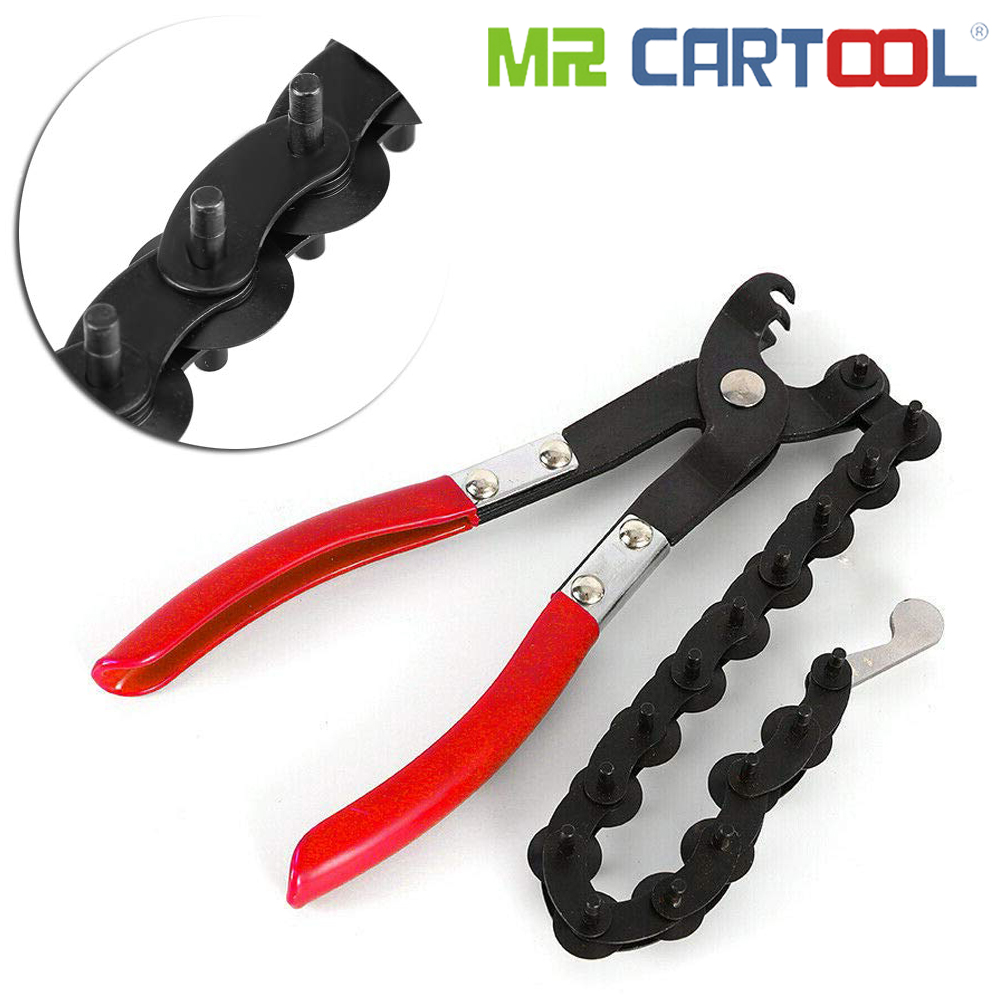 Mr Cartool Universal Exhaust Tail Pipe Steel Copper Tubing Cutter Cutting Chain Pliers 3/4