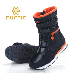 Image 2 - 2018 New Style Women Boots Fashion Silver Warm Brand Buffie