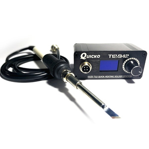 Image 5 - T12 942 OLED MINI soldering station Digital electronic welding iron DC Version Portable without power supply QUICKO
