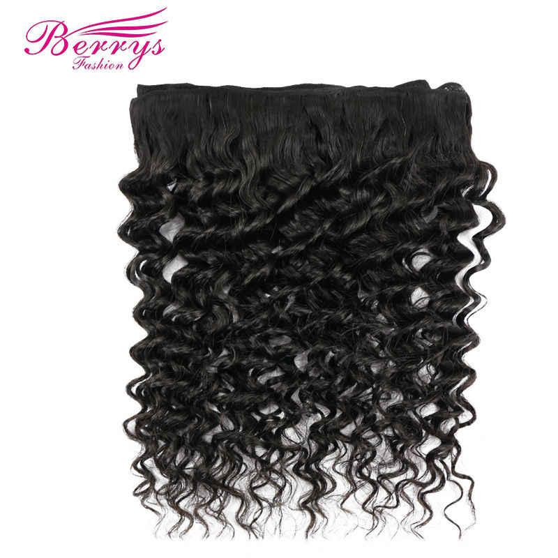 [Berrys Мода] бразильский девственные волосы глубоко переплетения 1 шт./лот оптом Химическое наращивание волос Человеческие волосы Weave Связки Необработанные Инструменты для завивки волос