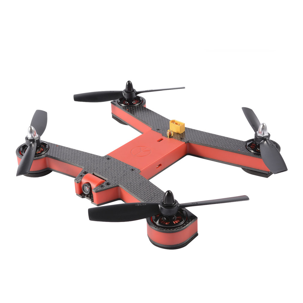 FOV 5.8G 8 Channels 2204 Motor 700 TVL FPV Racing Drone FOR 220 Carbon Fiber Frame Less Wiring 90 degrees Viewing Angle Red(China)