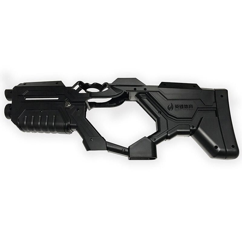(Noir) VR Gun Controller cas pour HTC Vive/Vive Pro Virtuel Réalité Dispositif Flux VR Virtuix Omni Jeu de tir pistolet