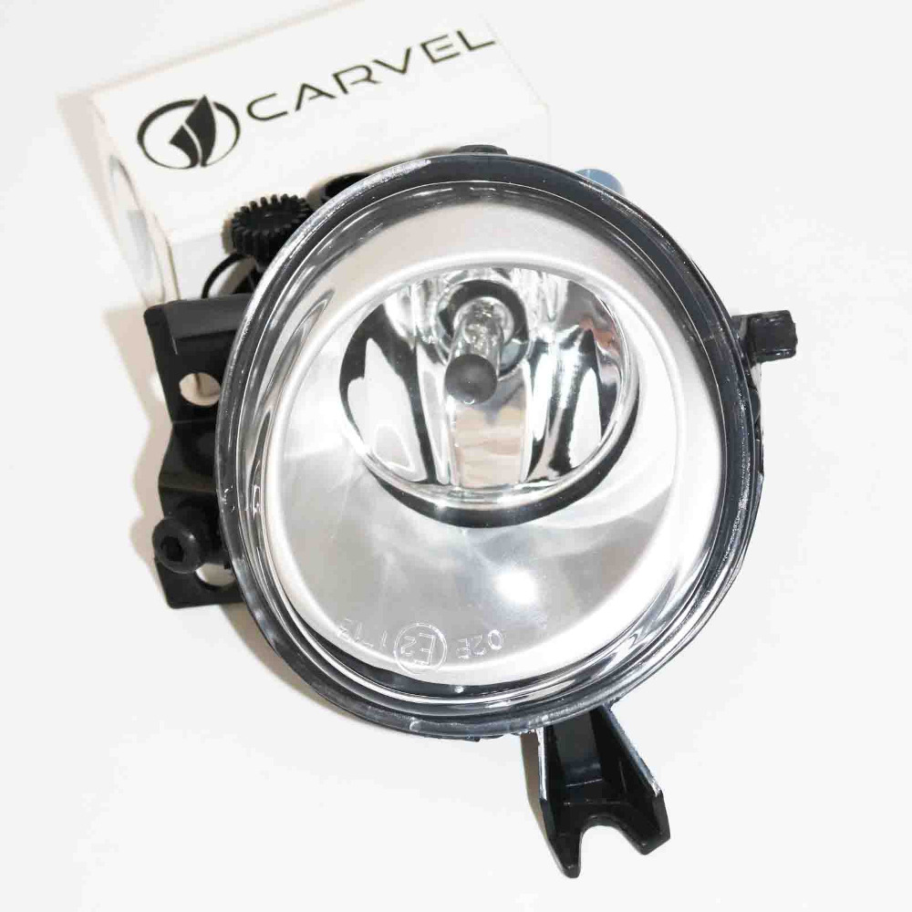 For VW Touareg 2003 2004 2005 2006 2007 2008 2009 2010 Right Side Car Styling Halogen Front Bumper Fog Lamp Fog Light With Bulb dfla car light for vw passat b6 car styling 2006 2007 2008 2009 2010 2011 new front halogen fog light fog lamp