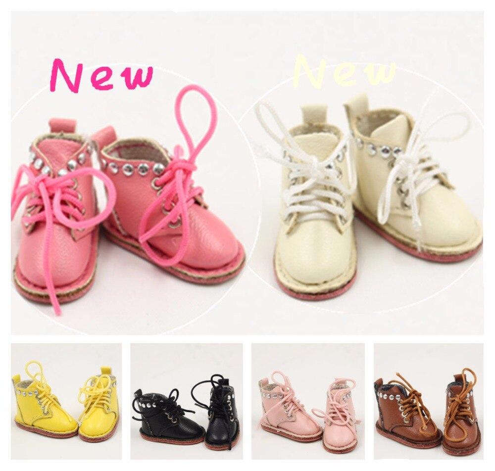 Кукольные кожаные туфли Blyth с 6 различными цветами для 1/6 30 см