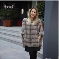 BFFUR Luxury Woman Real Mink Fur Coat Genuine Fur Poncho Natural Winter Female Jacket Full Pelt