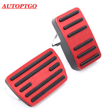 NO Drill Newest 2018 2019 Pedal For Honda Accord Accelerator Gas Brake Pedals Car Styling Stainless Steel + Rubber Pads Mats