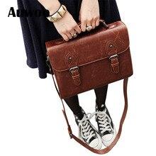 TCTTT Trends weiblichen umhängetasche retro PU leder aktentasche handtasche frauen umhängetasche mode umhängetasche