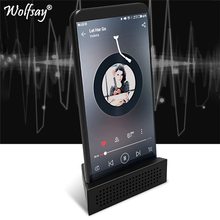 Wolfsay Portable Loudspeaker Phone Holder for iPhone Samsung Huawei Xiaomi Oneplus Music Sound Amplifier ABS Stand Bracket
