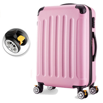 Rolling luggage 26inch Woman travel suitcase with wheels Spinner trolley case travel bag box 20inch boarding carry-on luggage