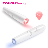 TOUCHBeauty 2 In 1 Red And Blue Light Therapy Acne Laser Pen Soft Scar Wrinkle Removal