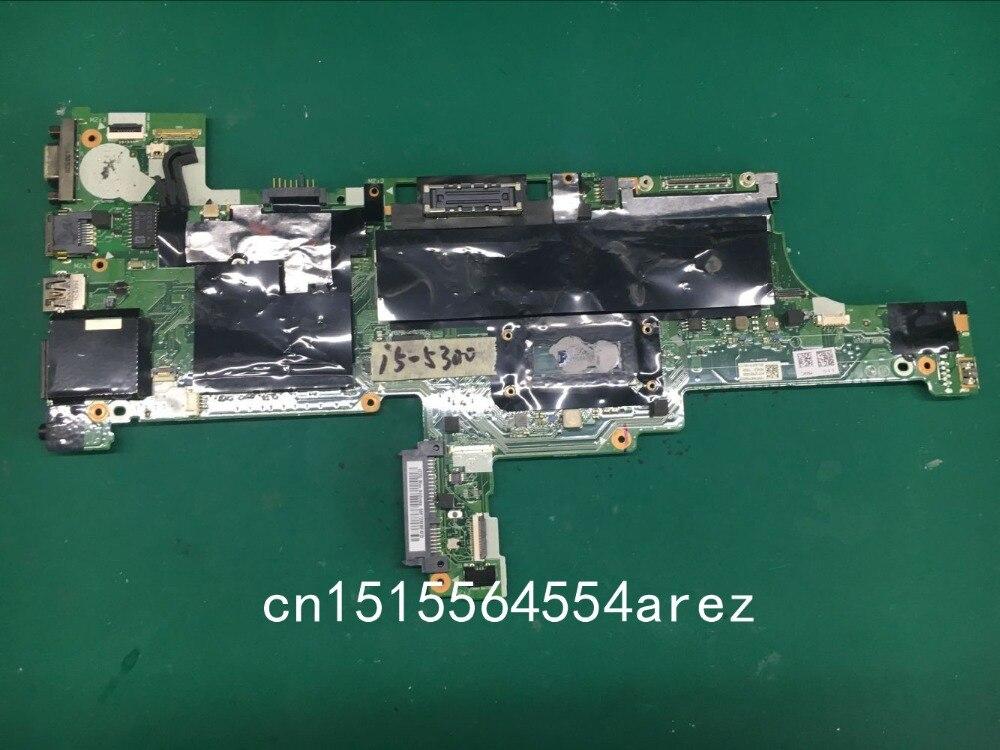 Original Laptop Lenovo THINKPAD T450 Motherboard Mainboard WIN I5 I5-5300U UMA AMT TPM 00hn525