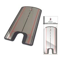 цена Golf Swing Straight Practice Golf Putting Mirror Alignment Training Aid Swing Trainer Eye Line Golf Accessories freeshipping онлайн в 2017 году
