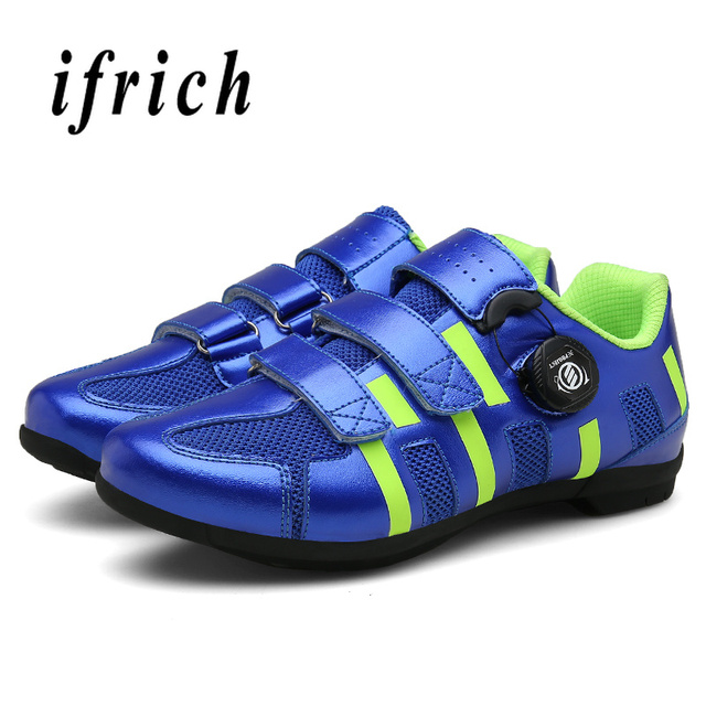Профессиональный шоссейный велосипед обувь MTB велосипедные туфли самоблокирующимся дышащие велосипедные туфли Для мужчин Для женщин спортивный велосипед обувь