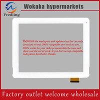 Biały Kolor 9.7 calowy Ekran Dotykowy Panel F-WGJ97104-V2 dla PIPO M6 Tablet PC Ekran Dotykowy Wymiana Szkło Digitizer Dotykowy MID PC