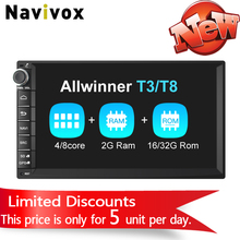 "Navivox 7""   Car Multimedia Player Universal GPS Navigation Radio Stereo Audio Player  for nissan ,for hyundai (no dvd)"
