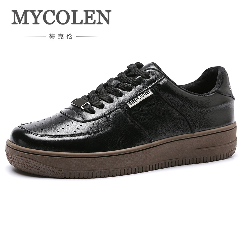MYCOLEN 2018 New Mens Casual Shoes Breathable Men Fashion Outdoor Classic Canvas Men Shoes Zapatos Hombre Casual Cuero new fashion men luxury brand casual shoes men non slip breathable genuine leather casual shoes ankle boots zapatos hombre 3s88