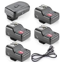 Neewer 4 Kanal Kablosuz Uzaktan Flaş Speedlite Radyo Tetik 2.5mm PC Alıcı ile Canon/Nikon/Yongnuo/Olympus/Pentax