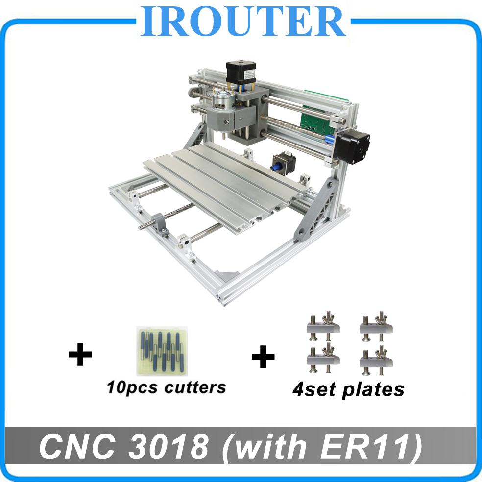 CNC3018 withER11,diy mini cnc engraving machine,laser engraving,Pcb PVC Milling Machine,wood router,cnc 3018,best Advanced toys  цена и фото