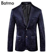 Batmo 2018 Новое поступление высокого качества с принтом повседневные блейзеры для мужчин, мужские повседневные комплекты, печатные мужская Куртки плюс размер 9005