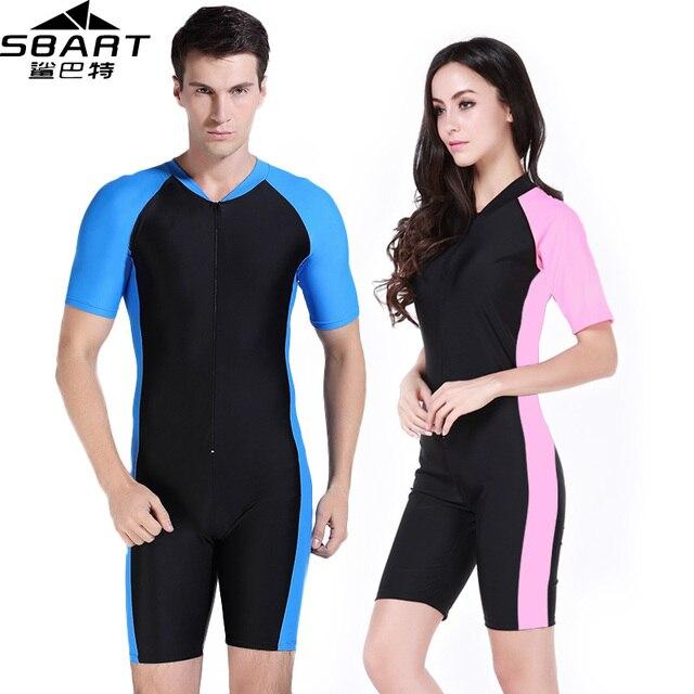 SBART Wetsuit Women Men Diving Suit Lycra Spandex Short Swimming Surfing Diving Wetsuits De Buceo Plus Size Swimming Wet suits