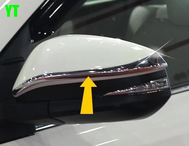 Car rear view mirror cover,auto rear mirror trim for Toyota Highlander 2015,ABS chrome,2pc/lot,car styling