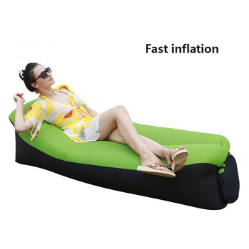 Inflatable Lounger Air Sofa Portable Waterproof Couch for backyard Lakeside Beach Traveling Camping Picnics Music Festivals 2