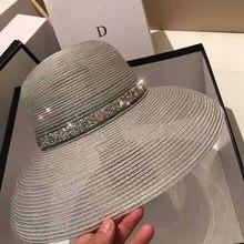 Женская пляжная шляпа от солнца UV UPF50 Складная летняя шляпа для путешествий