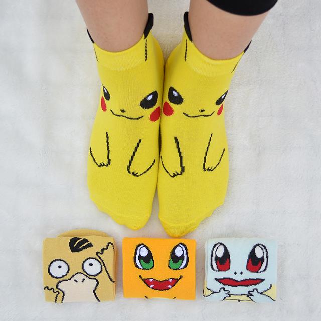 Pokemon Calcetines de Corte Bajo (4 Colores)