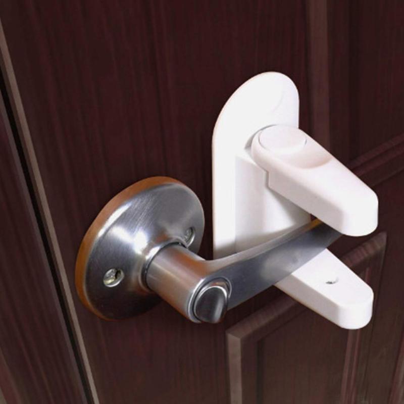 Child Safety Lock Door Lever Lock Child Proof...