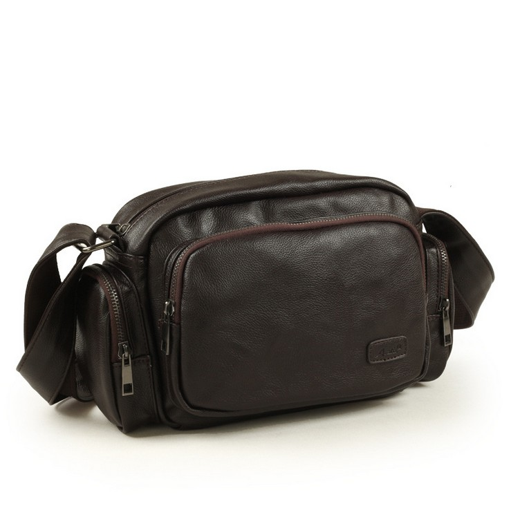 The new men's bags one shoulder Aslant recreation bag contracted tide restoring ancient ways men leather bags