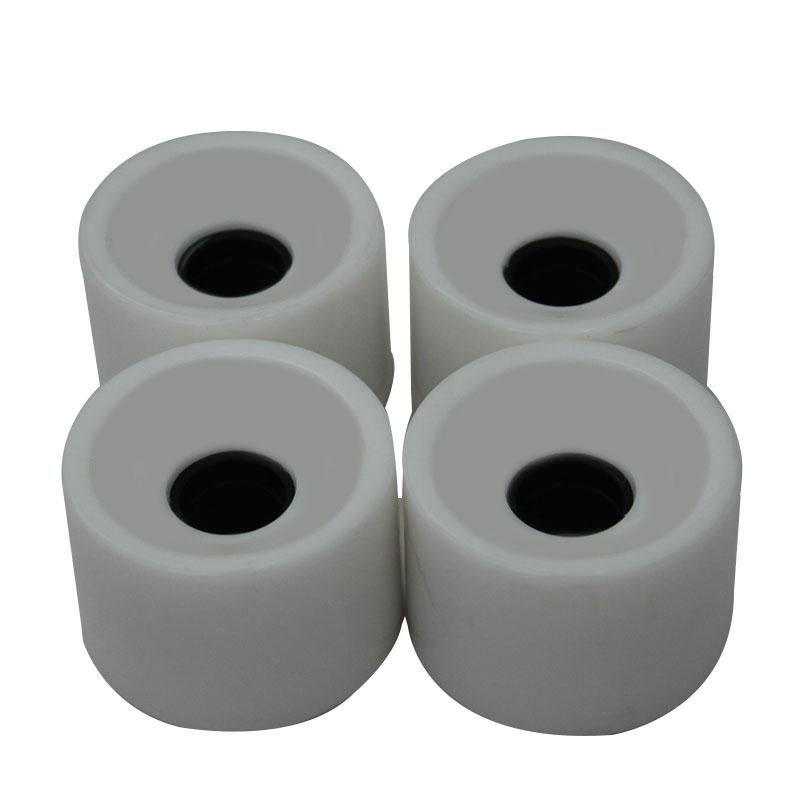 1/4 Pcs Creative Skateboard Wheels Bearings Elastic PU Wearable Flexible Durable 70x51 Skateboard Wheel Supplies