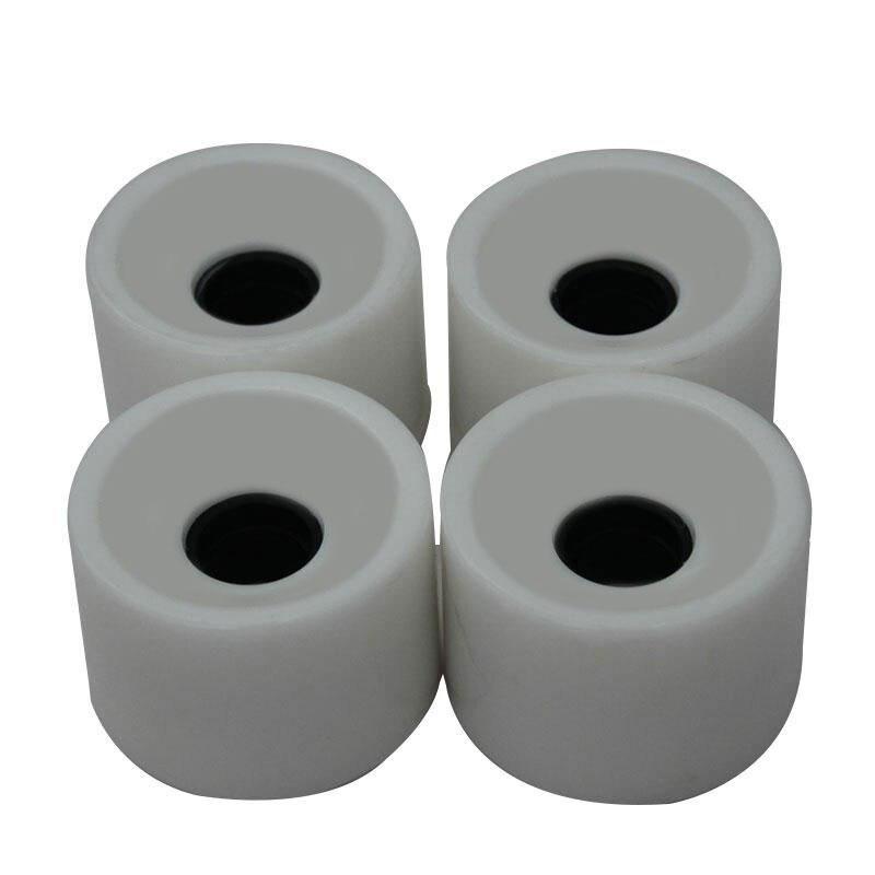 1 Pcs Creative Skateboard Wheels Bearings Elastic PU Wearable Flexible Durable 70x51