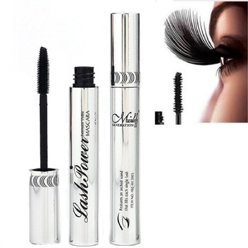 4D Silk Fiber Lash Mascara Curling Volume Black Waterproof Liquid Rimel Fiber Lash Extension Makeup Lengthening тушь для ресниц 3ina тушь для ресниц the lengthening mascara черный