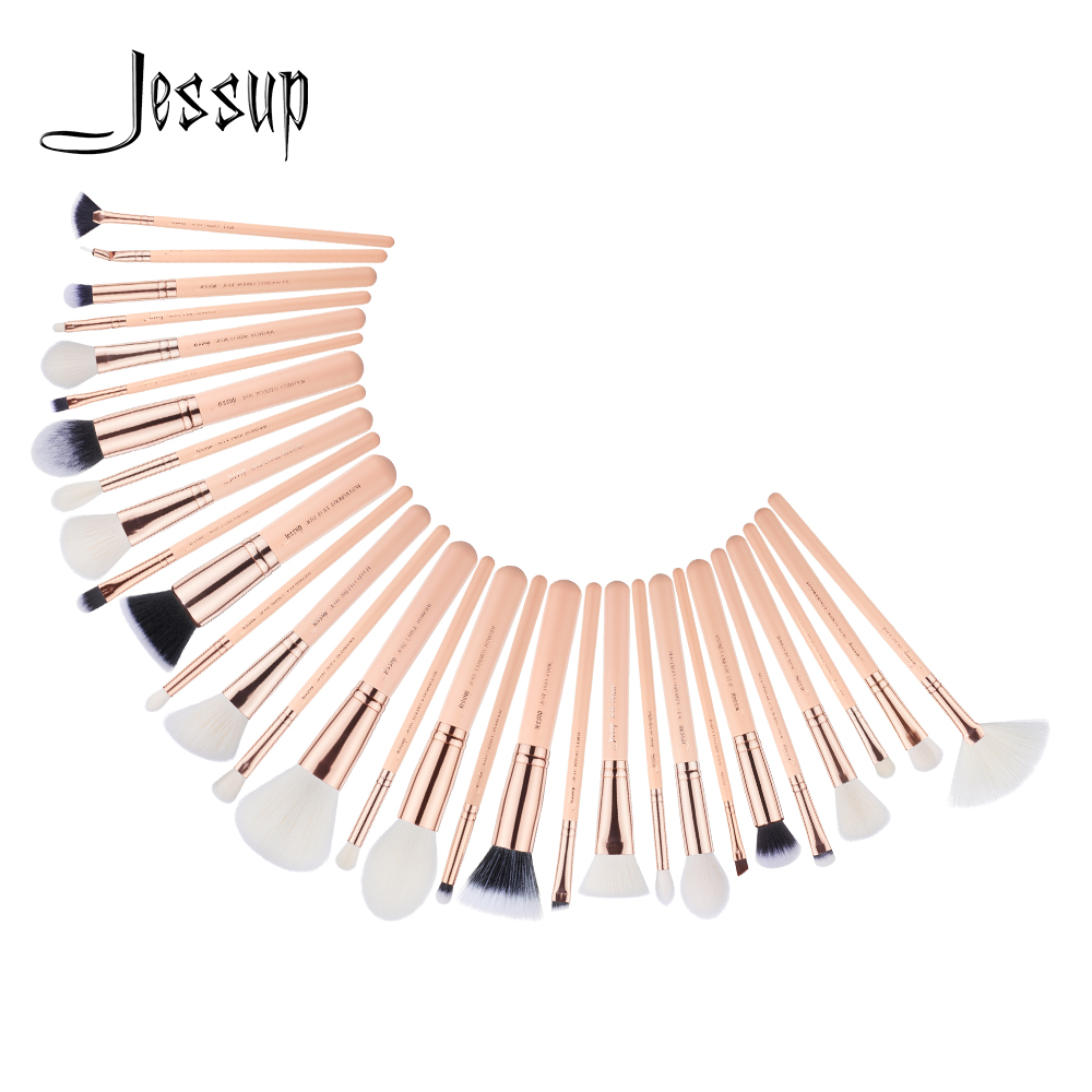 Jessup brushes 30pcs Makeup Brushes Set maquiagem profissional completa Powder Eyeshadow Concealer Blending Brushes T440