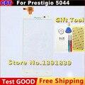 """Новый оригинальный 5.0 """" белый Prestigio PAP5044 MultiPhone 5044 Duo сенсорный экран планшета внешний экран + инструмент + бесплатная доставка"""