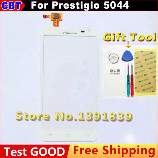 """Nueva Original de 5.0 """" blanco Prestigio PAP5044 MultiPhone 5044 Duo pantalla táctil digitalizador de pantalla externa + Tool + Free"""
