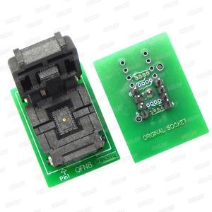 Image 5 - QFN8 to DIP8 โปรแกรมเมอร์อะแดปเตอร์ WSON8 DFN8 MLF8 to DIP8 ซ็อกเก็ตสำหรับ 25xxx 6x5 3x2 8x6 มม.= 1.27 มม