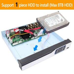 Image 5 - 6 ב 1 H.265 + 8ch AHD וידאו היברידי מקליט עבור 5MP/4MP/3MP/1080 P/ 720P מצלמה Xmeye Onvif P2P CCTV DVR AHD DVR תמיכת USB wifi