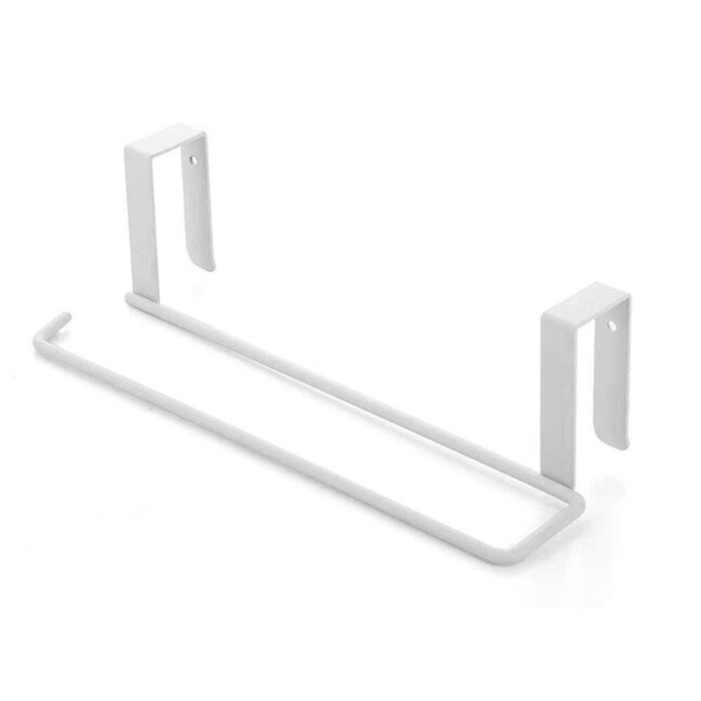Cabinet Cupboard Draining Shelf Toilet Paper Organizer Metal Kitchen Tissue Hanging Holder Bathroom Towel Holder Storage Rack