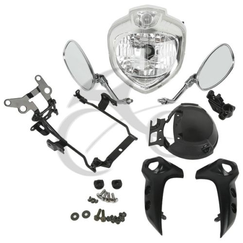 Motorcycle Headlight kit Head Light Assembly For Yamaha FZ6 FZ6N 2004 2006 2005