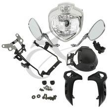 Motorcycle Headlight kit Head Light Assembly For Yamaha FZ6 FZ6N 2004-2006 2005