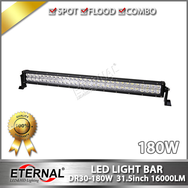 ФОТО 4pcs 180W led light bar spot flood combo driving headlight for off road ATV UTV 4x4 Wrangler SUV truck equipment vehicles