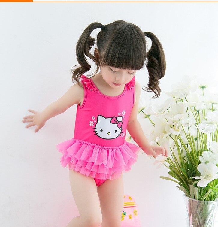 315cb84e69c4 Ting design 2015 girl cute one piece pink color cat tutu dress kids ...