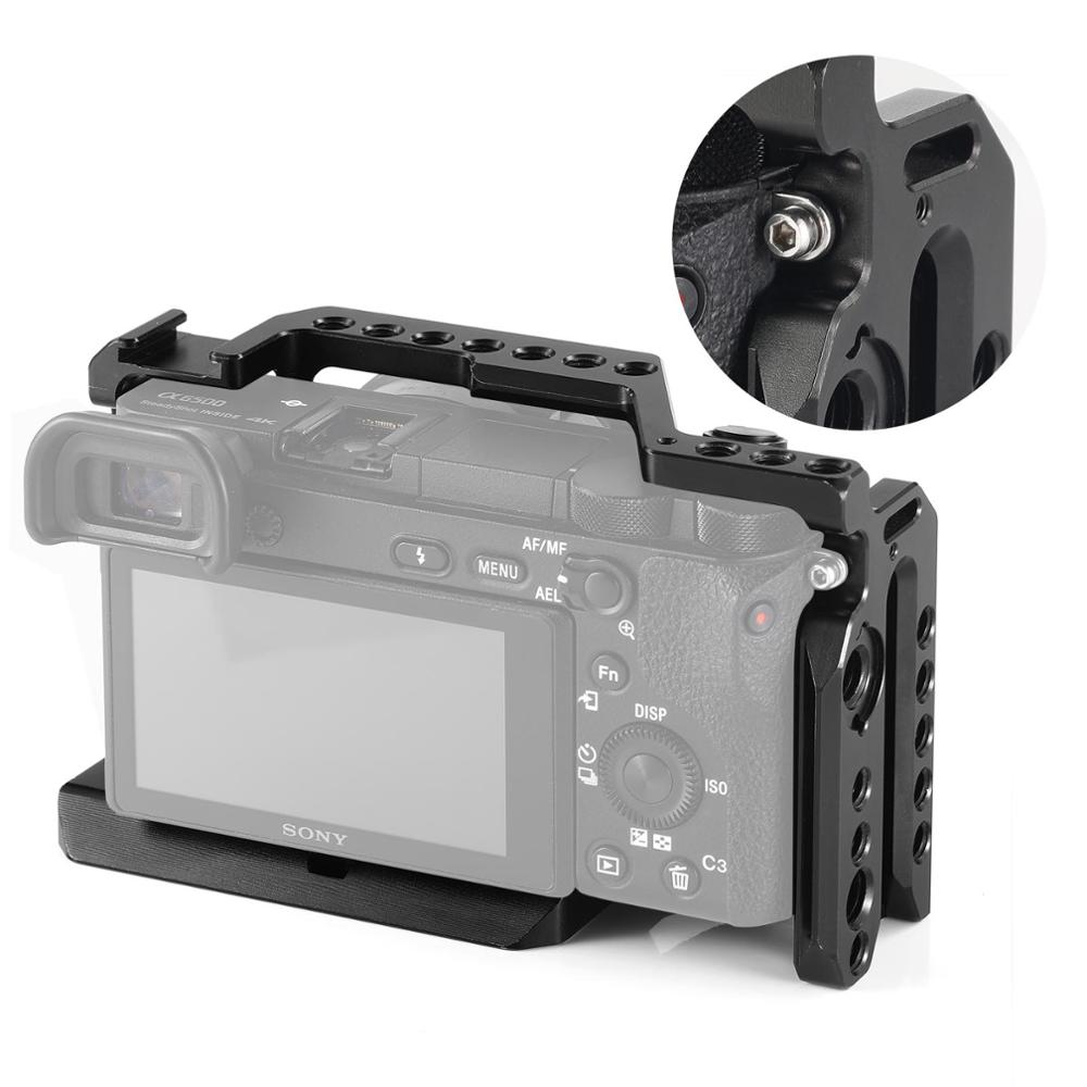 SMALLRIG Cage for Sony Alpha A6000 A6300 A6500//ILCE 6500 4K Digital Mirrorless Camera 1889