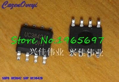 10pcs/lot UC3842A UC3842B UC3842 3842B 3842 SOP-8 New Original In Stock