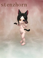 Anime bjd doll animal toy bite cat high quality sale free shipping