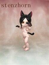 Anime bjd doll toy animale morso gatto di alta qualità di vendita di trasporto libero