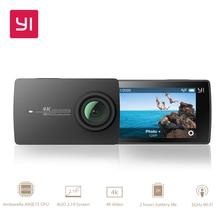 """YI 4 K Action Camera 2.19 """"LCD 4 K/30fps Trudne Ekran 155 Stopni EIS Wifi Czarny Międzynarodowa wydanie Ambarella A9SE75 12MP CMOS"""