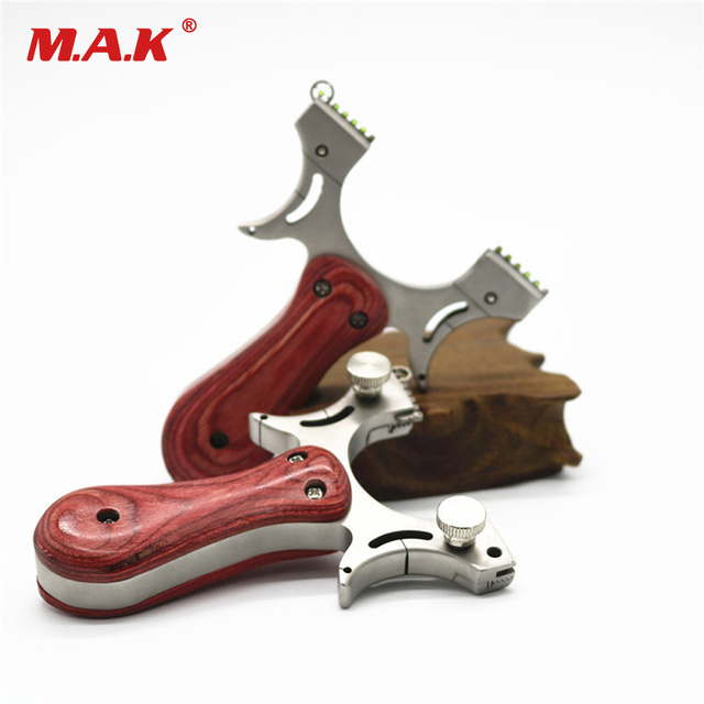 Quick pressure Stainless Steel Slingshot 5 Frame Sights with Flat ...