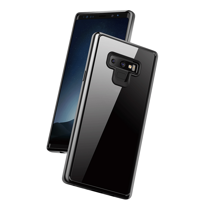 For Samsung Galaxy Note 9 Case Luxury Laser Plating Soft Clear Back Cover For Samsung Note9 Cases